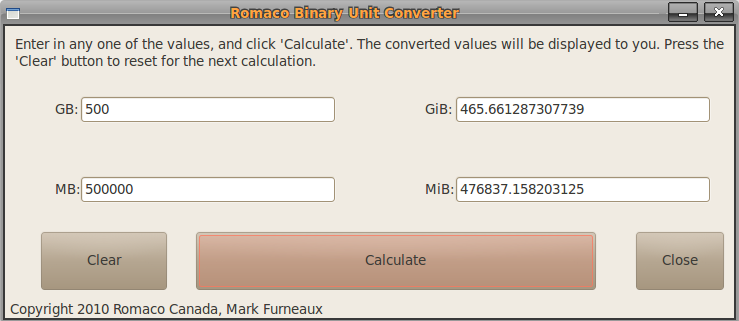 Binary Unit Converter